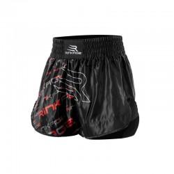 Rinkage Shiva Short kick boxing Color Noir-Jaune Size L