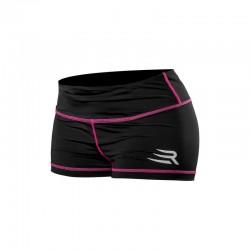 Rinkage Diane Shorty nylon Color Noir-Jaune Size M